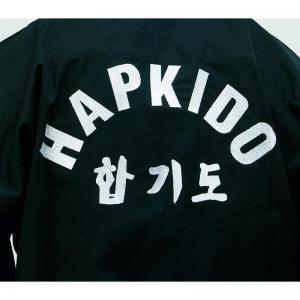 Tenue de hapkido noire fuji mae 10270 dos zoom